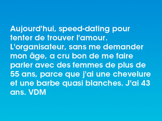 Speed-Dating plus de 55 ans